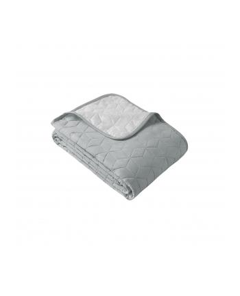 Narzuta dwustronna Room99 NEXT CUBE LM (200 x 220 cm; kolor biało-szary)