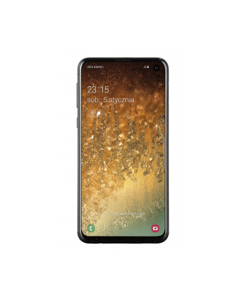 samsung electronics polska Smartfon Samsung Galaxy S10e 128GB Prism Black (5 8 ; Dynamic AMOLED; 2280x1080; 6GB; 3100mAh)