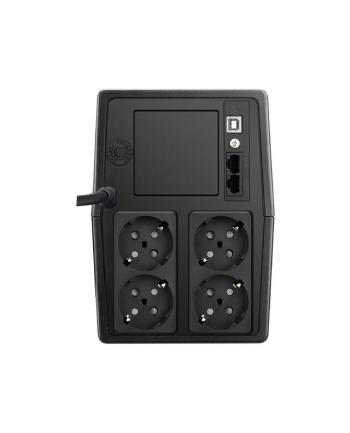 Zasilacz awaryjny UPS POWER WALKER VI 1000 SCL (Desktop; 1000VA)