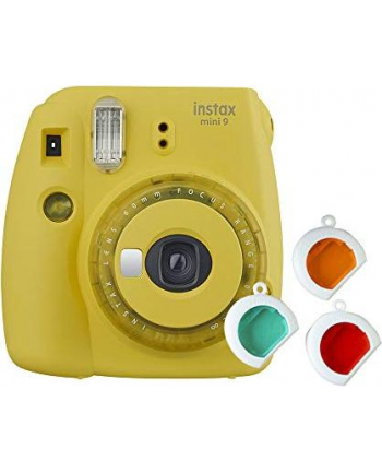 Fujifilm Instax Mini 9 Camera Clear Yellow