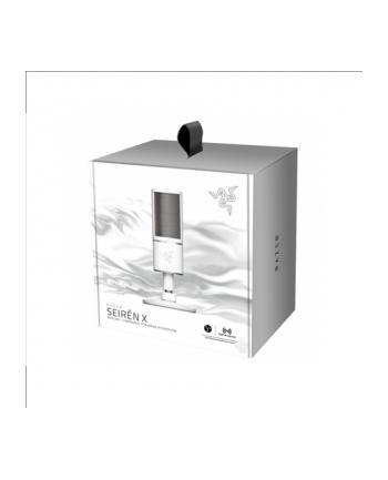 Razer Seiren X- Condenser Streaming Microphone - Mercury - FRML