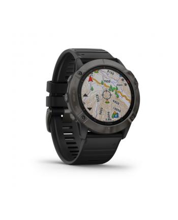 Zegarek sportowy Garmin Fenix 6X (black)