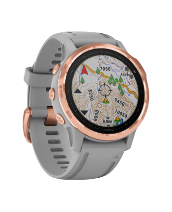 Zegarek sportowy Garmin Fenix 6S (rose-gold-grey)