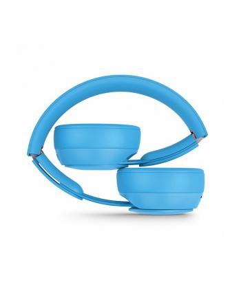 apple Słuchawki bezprzewodowe Beats Solo Pro Wireless z redukcją szumów - More Matte Collection - jasnoniebieskie