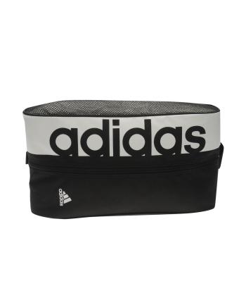 Worek na buty Adidas Worek adidas Linear Performance (400mm / 200mm / 100 mm; kolor czarno-biały)