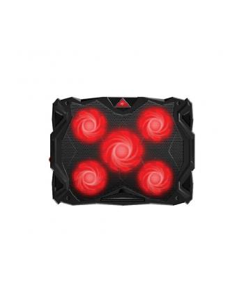 Podstawka chłodząca pod laptop HAVIT F2068 (16 - 17x cali; 5 wentylatorów; HUB)
