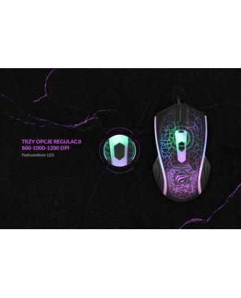 Mysz komputerowa HAVIT MS736 (optyczna; 1200 DPI; kolor czarny)