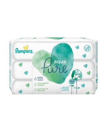 Chusteczka Pampers Chusteczki Pampers Aqua Pure 3x48 (48)