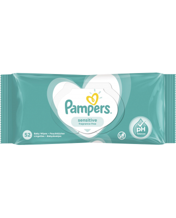 Zestaw chusteczek Pampers Chusteczki Pampers Sensitive 3x52 (52)