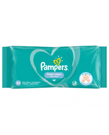 Zestaw chusteczek Pampers Chusteczki Pampers FreshClean 3x52 (52)