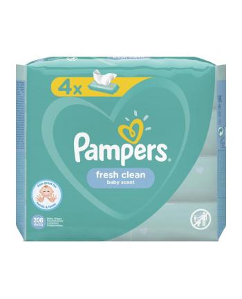 Zestaw chusteczek Pampers Chusteczki Pampers FreshClean 4x52 (52)