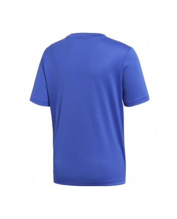 Koszulka piłkarski juniorska Adidas Koszulka piłkarska adidas Junio (dziecięca; 164; kolor niebieski)