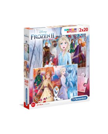 Clementoni Puzzle 2x20el Frozen 2 24759