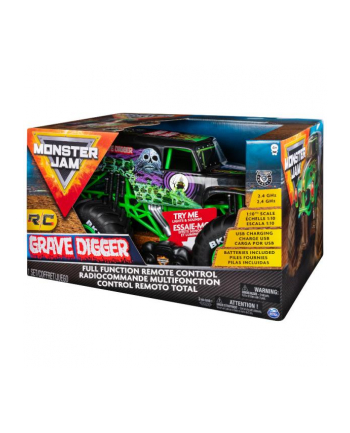 spin master Auto RC Monster Jam DIGGER zdalnie sterowany 6044994