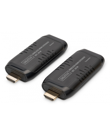 digitus Przedłużacz (Extender) HDMI bezprzewodowy 30m 1080p 60Hz FHD HDCP 1.2 audio (zestaw)