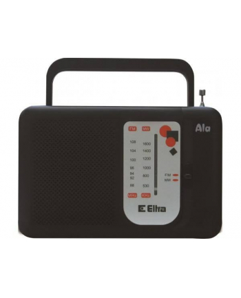 eltra Radio ALA czarny
