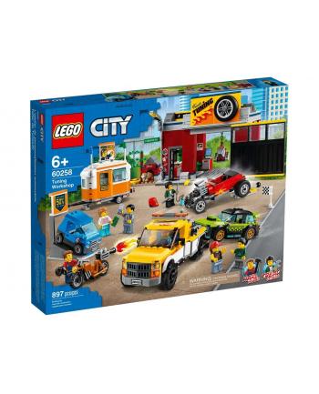 LEGO 60258 CITY Warsztat tuningowy p4