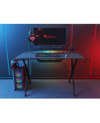 natec Biurko dla gracza gamingowe Genesis Holm 300 podświetlenie RGB