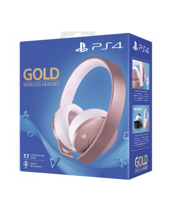 sony *Playstation Wireless Headset Rose Gold