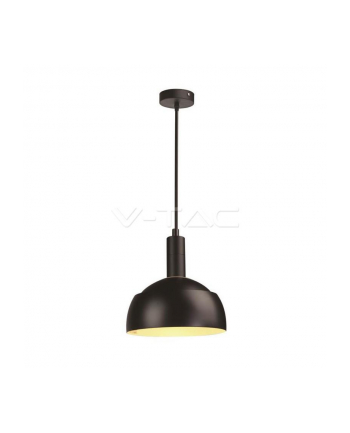 v-tac Lampa wisząca VT-7100 E14 okrągła czarna