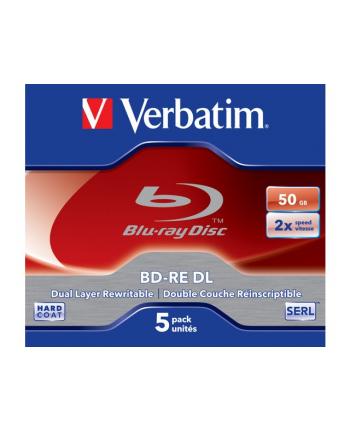 verbatim BD-RE 50GB x2 (5 Jewel Case)