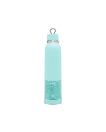 iHome iBTB2QQ Bezprzewodowy głośnik Bluetooth z butelką termiczną trzymającą niską temperaturę, kolor turkusowy
