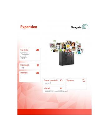 seagate Dysk Expansion 8TB 3,5 STEB9000402 Black
