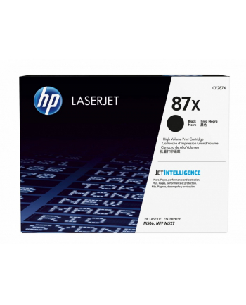 hp inc. Toner CF287XH Czarny Contract Cartridge