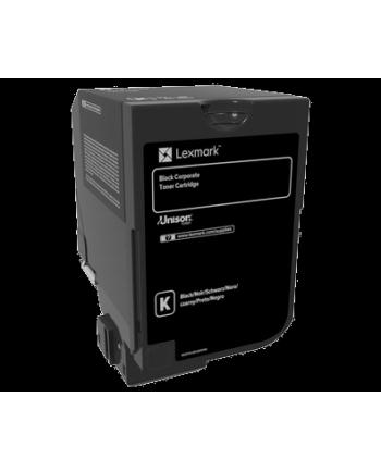 lexmark Toner CS720, CS725 BLACK 3K 74C20KE