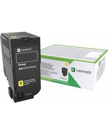 lexmark Toner CX725 Corporate YE 16K 84C2HYE