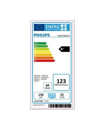 philips Telewizor LED 4K UHD Android 55cali 55PUS7504/12
