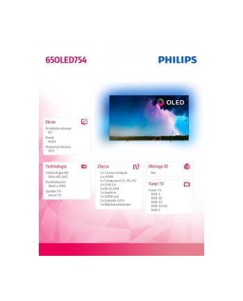 philips Telewizor 65 cali OLED 65OLED754/12