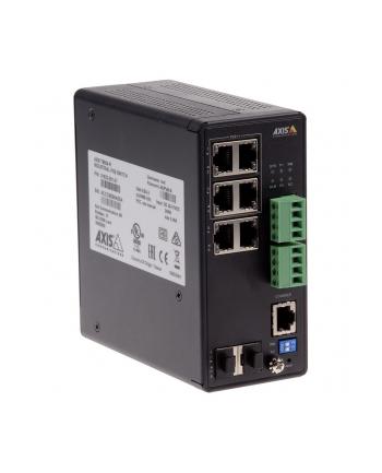 axis Przełącznik sieciowy PoE przemysłowy T8504-R