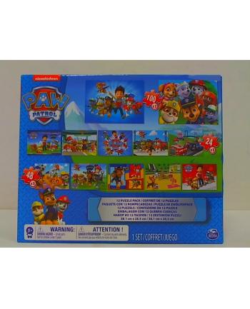 PAW PATROL / PSI PATROL Puzzle 12w1 6041049 p3 Spin Master