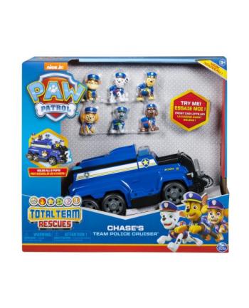spin master PAW PATROL / PSI PATROL  Zestaw Chase'a + 6 figurek 6052956