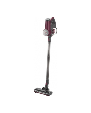 Grundig VCP 3830, upright vacuum cleaner(berry / silver, 2-in-1)