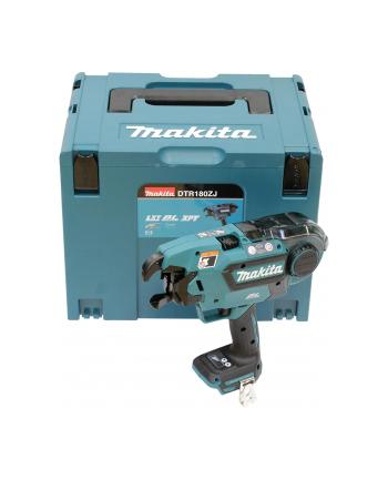 Makita cordless rebar connector DTR180ZJ, 18 Volt, pliers (blue / black)