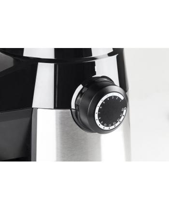 Młynek elektryczny do kawy caso BARISTA FLAVOUR 1832 (150W; żarnowy; kolor srebrny)
