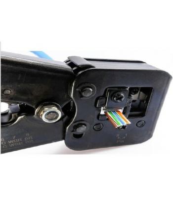 Zaciskarka wtyków RJ45 RJ12, RJ11 NT-0204