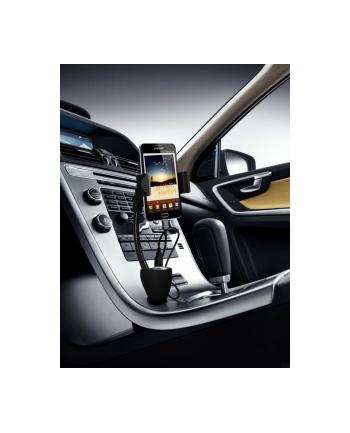 TE06 Uniwersalny samochodowy uchwyt na smartfon z ładowarką