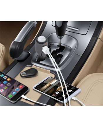Alarm samochodowy z ładowarką USB 2 porty TX-100