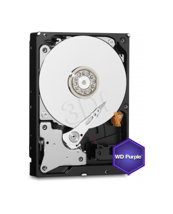 Dysk serwerowy WD Purple WD20PURZ (2 TB ; 35 ; SATA III; 64 MB; 5400 obr/min)