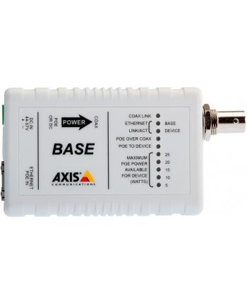axis Zestaw adapterów koncentrycznych PoE+ T8640 over Coax