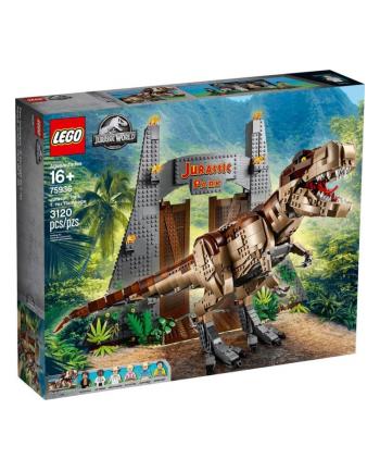 LEGO 75936 Jurassic World Jurassic Park: T. Rex's devastation, construction toys