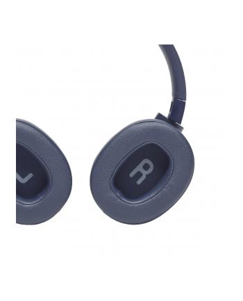 Słuchawki JBL Tune 750 BT NC Niebieski (nauszne; Bluetooth; z wbudowanym mikrofonem; kolor niebieski