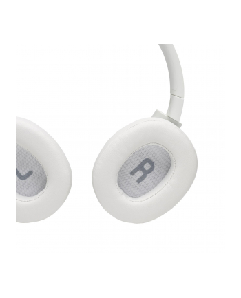 Słuchawki JBL Tune 750 BT NC Biały (nauszne; Bluetooth; z wbudowanym mikrofonem; kolor biały