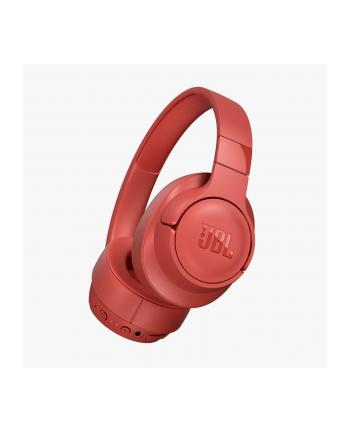 Słuchawki JBL Tune 750 BT NC Koralowy (nauszne; Bluetooth; z wbudowanym mikrofonem; kolor koralowy