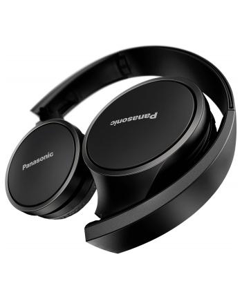 Słuchawki bezprzewodowe Panasonic RP-HF400BE-K (nauszne; Bluetooth; TAK; kolor czarny