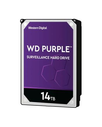 Dysk WD Purple 14TB SATA 6Gb/s CE HDD 3.5inch internal 7200Rpm 512MB Cache 24x7 Bulk