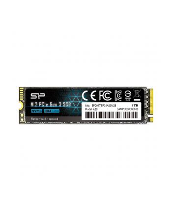 Dysk Silicon Power Ace A60 SP001TBP34A60M28 (1 TB ; M2; PCIe Gen3 x4)